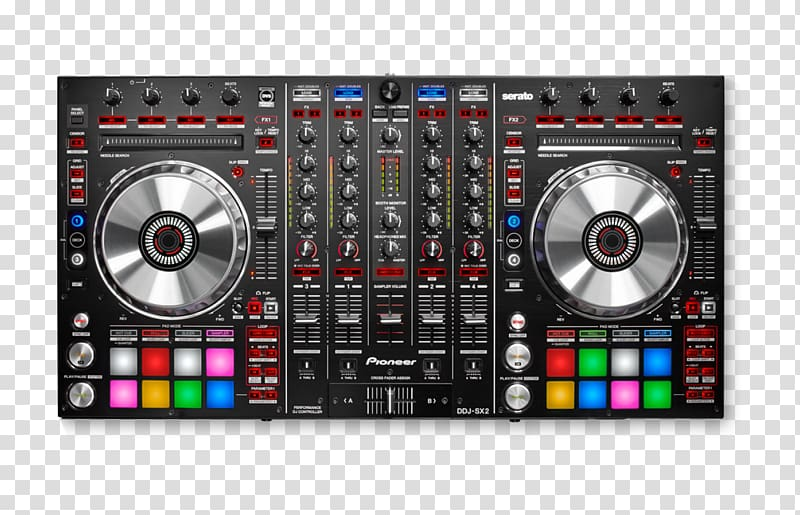 Pioneer dj clipart image free DJ controller Pioneer DDJ-SX2 Pioneer DJ Disc jockey DJ ... image free