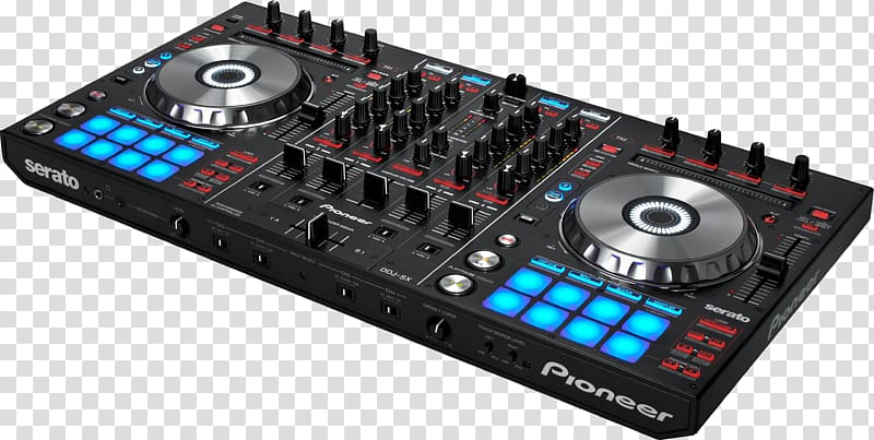Pioneer dj clipart image black and white library DJ controller Pioneer DJ Pioneer DDJ-SX2 Disc jockey, others ... image black and white library