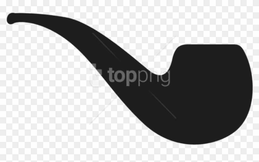 Pipe clipart free vector black and white Free Png Download Movember Pipe Clipart Png Photo Png - Pipe ... vector black and white