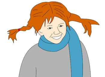 Pippi s clipart image free library Pippi Longstocking by Astrid Lindgren: Summary & Characters ... image free library