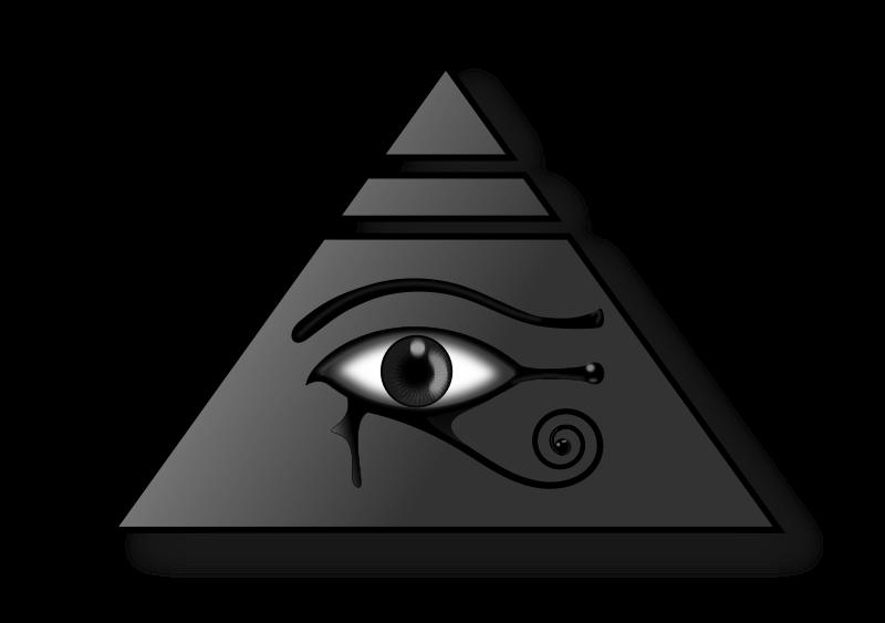 Piramides clipart picture freeuse stock Free Clipart: Piramide con el Ojo de Horus   deiby_ybied picture freeuse stock