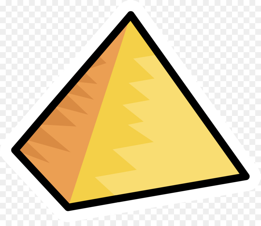 Piramides clipart svg black and white library Egyptian pyramids De Piramides - Cartoon pyramid png ... svg black and white library