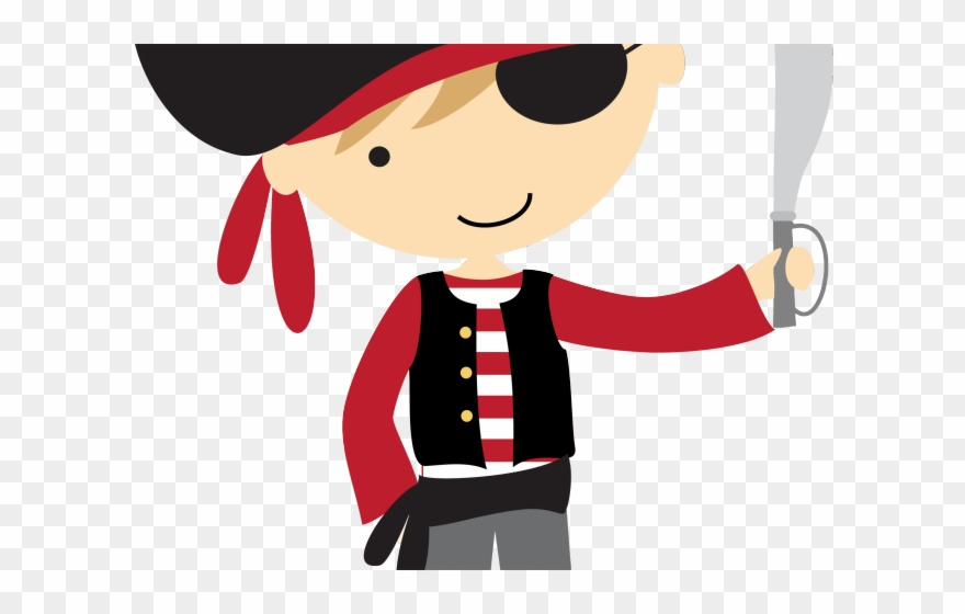Pirate clipart pictures jpg royalty free download Pirates Clipart Writing - Cute Pirate Clipart - Png Download ... jpg royalty free download