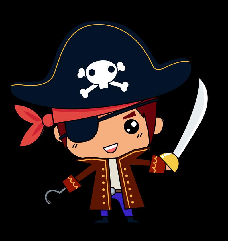 Pirate boy clipart banner transparent download Cute pirate boy clipart - Clip Art Library banner transparent download