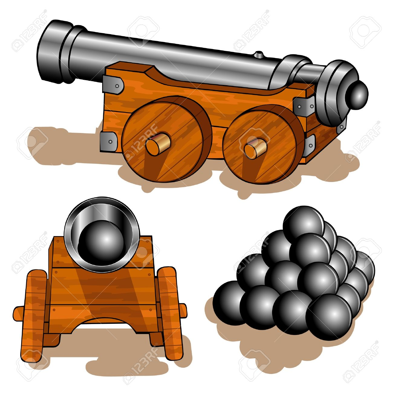 Pirate ship cannon clipart picture transparent stock Collection of Cannon clipart | Free download best Cannon ... picture transparent stock