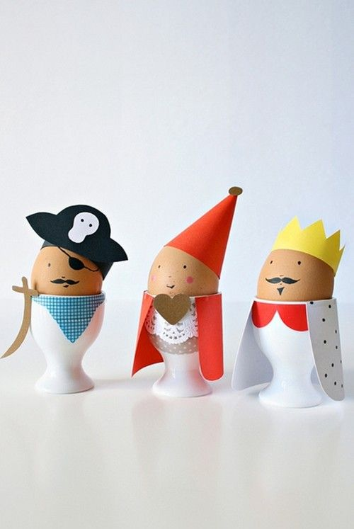 Pirate easter egg clipart png Adorable egg decorations. A King, a Pirate, a fair maid. | Spring ... png