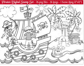 Pirate easter egg clipart svg SALE Easter Digital StampsEaster Clip by JoKavanaghDesigns on Etsy svg