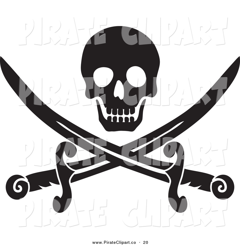 Pirate flag clipart black and white jpg freeuse download Pirate Flag Clipart Black And White | Clipart Panda - Free ... jpg freeuse download