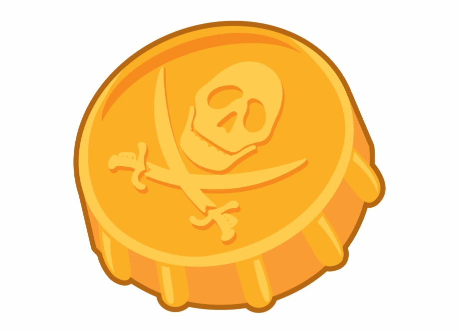 Pirate gold clipart clipart transparent stock Coin Clipart Gold Doubloon - Pirate Gold Coin Clipart Free ... clipart transparent stock