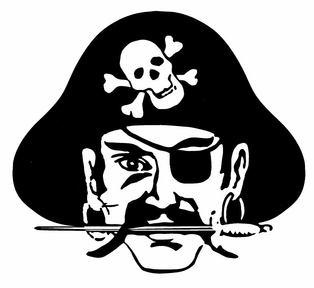Pirate head clipart svg free library Pin by Kim Stafford-Galaviz on pirates | Pirate clip art ... svg free library