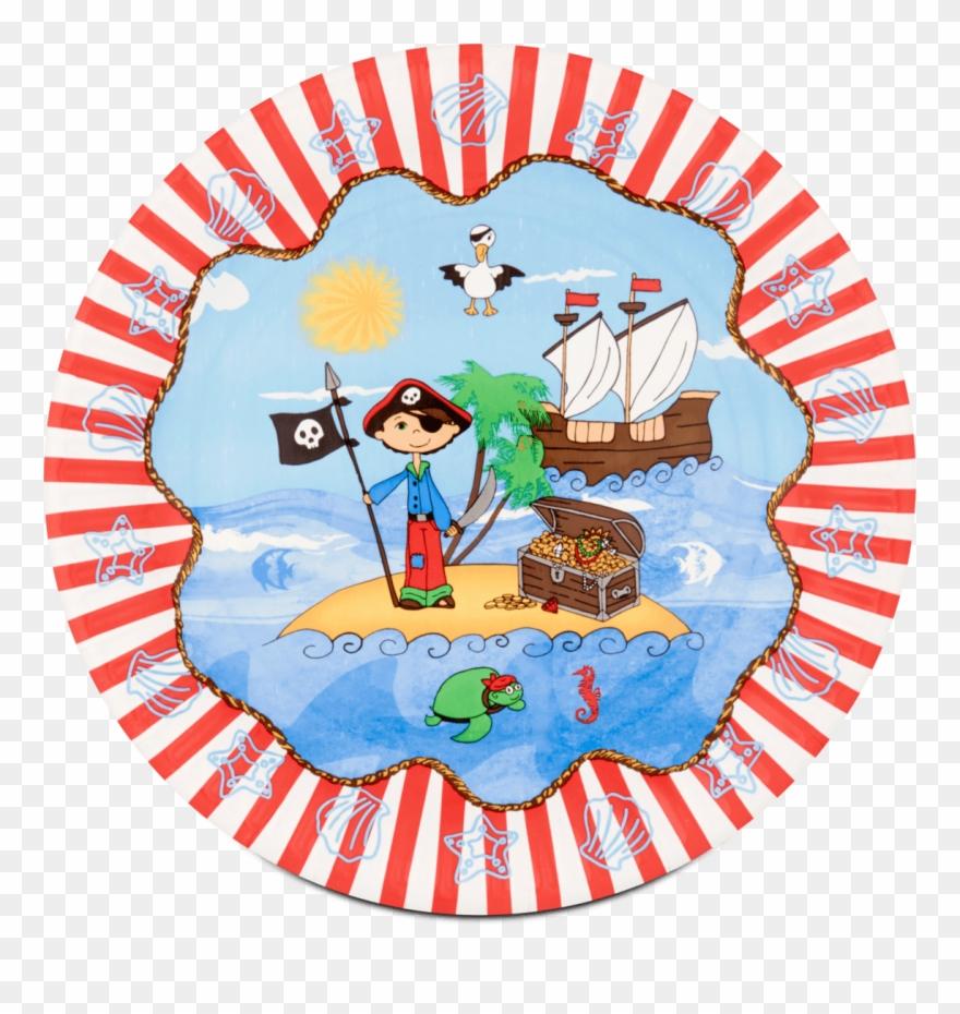 Pirate island clipart banner library library Papstar Papírtányér \