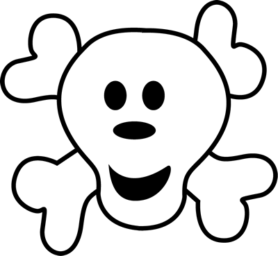 Pirate logo clipart picture black and white Pirate Logo Clip Art Image | Clipart Panda - Free Clipart Images picture black and white