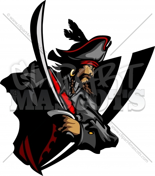 Pirate logo clipart clipart freeuse download Pirate Logo Clipart Vector Graphic clipart freeuse download