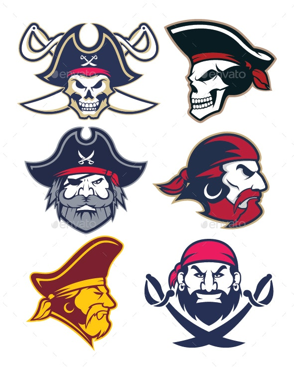 Pirate mascot clipart graphic free Pirate Mascot graphic free