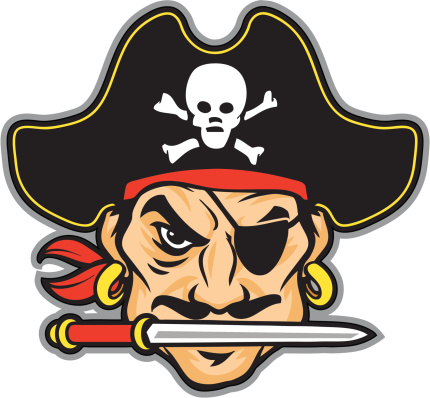 Pirate mascot clipart image freeuse stock Pirate Head Cliparts | Free download best Pirate Head ... image freeuse stock
