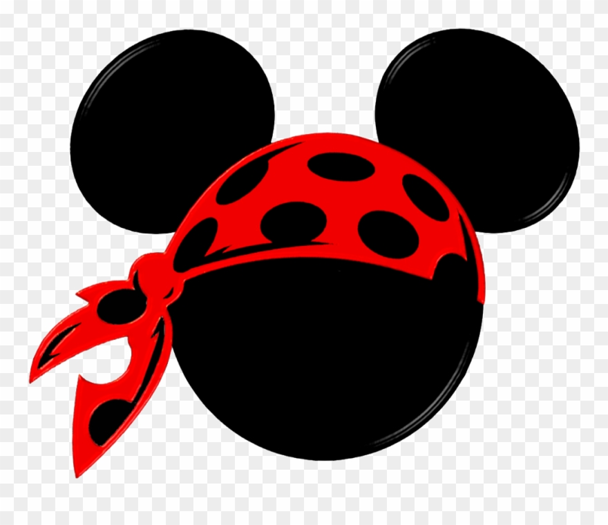 Pirate mickey clipart picture free stock Mickey Mouse Clip Art - Mickey Pirate Svg - Png Download ... picture free stock