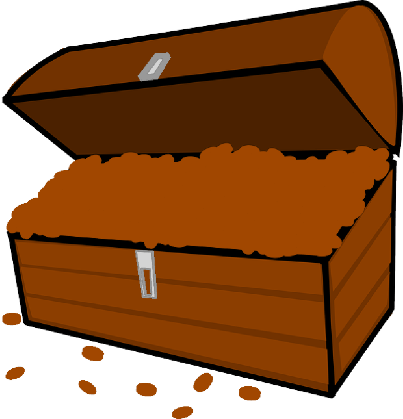Pirate money clipart graphic library library Pirate Treasure Chest Clipart at GetDrawings.com   Free for personal ... graphic library library