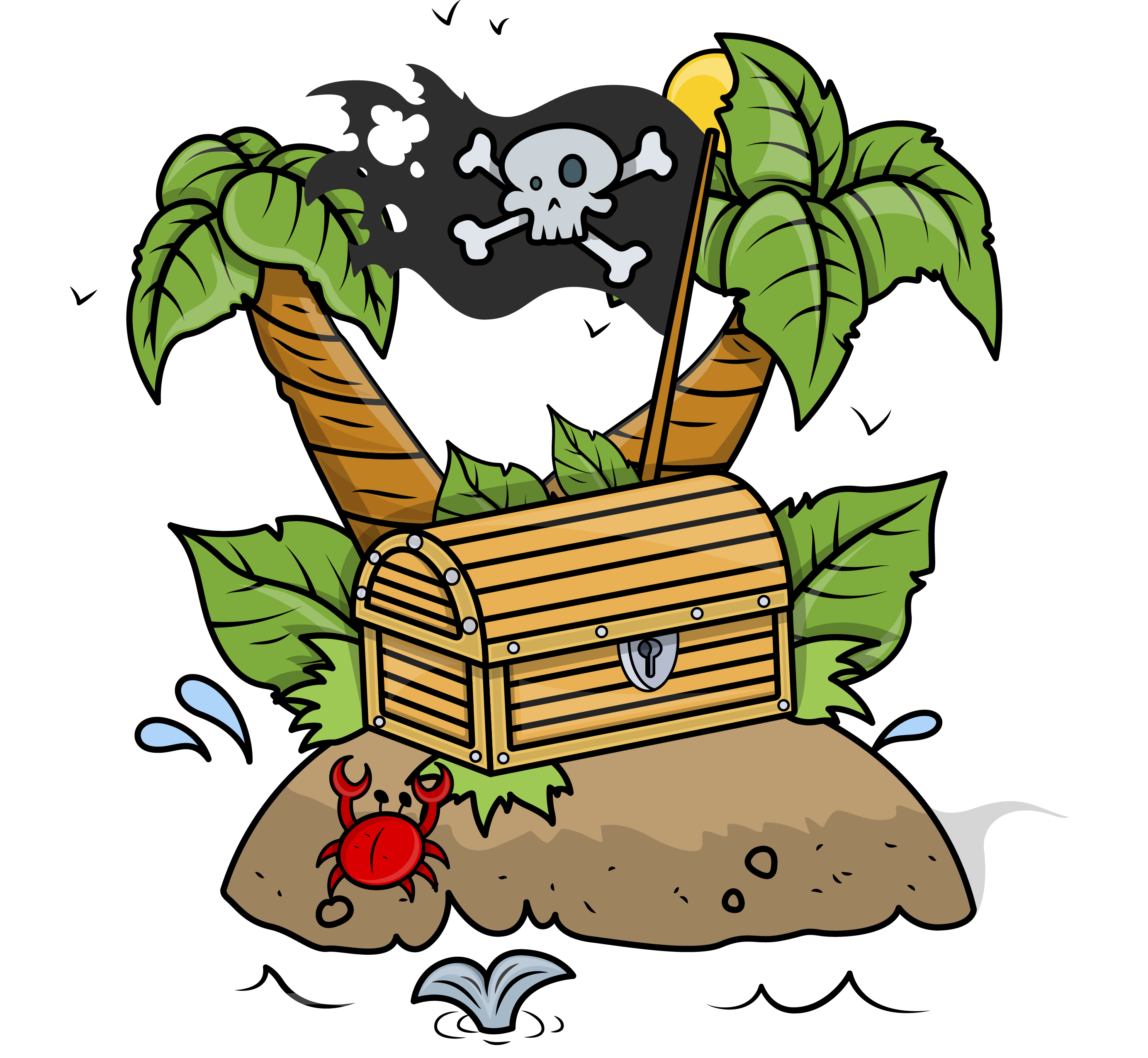 Pirate money clipart royalty free Pirate Treasure Chest Clipart at GetDrawings.com   Free for personal ... royalty free