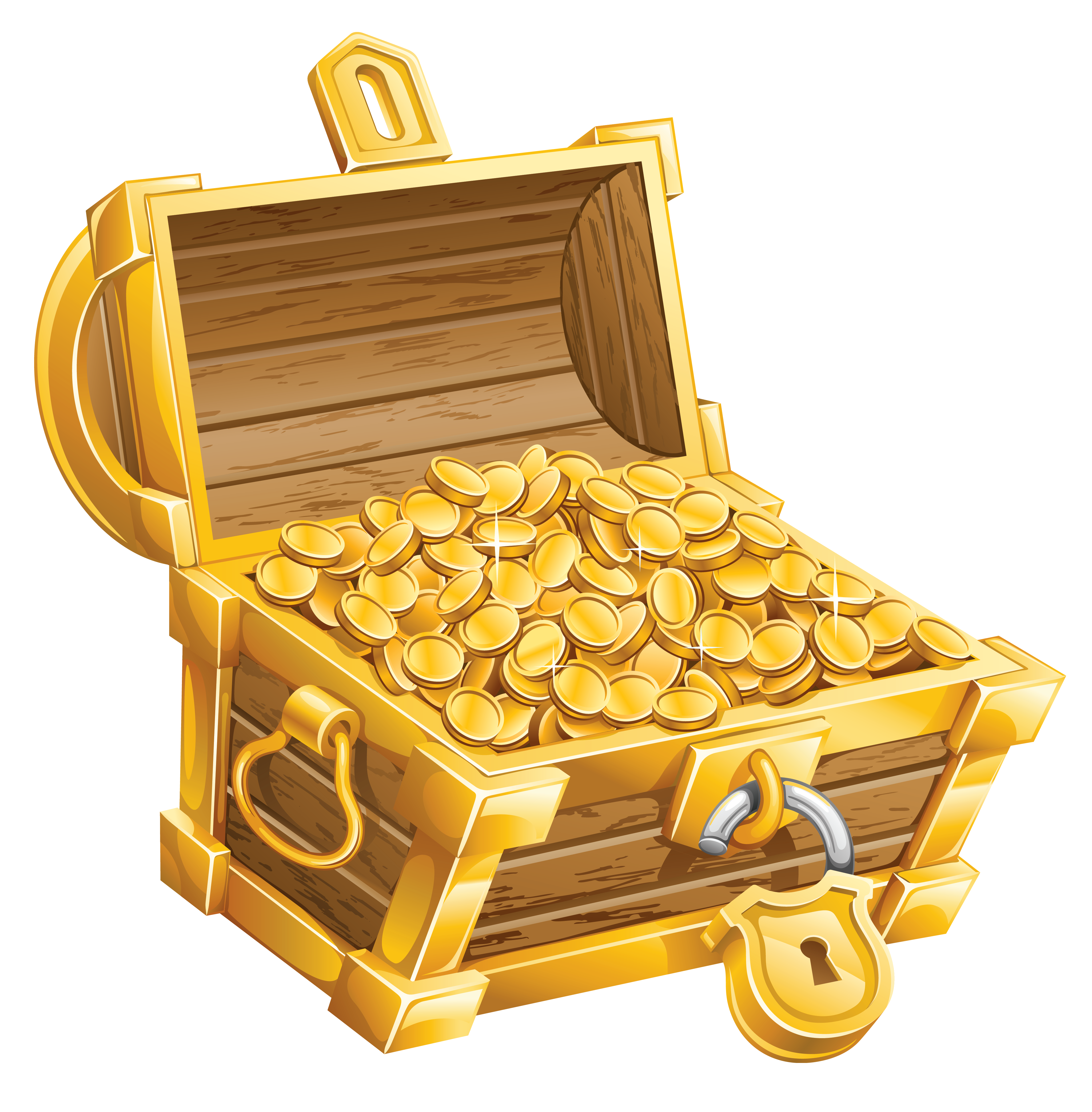 Pirate money clipart png library download Treasure Chest PNG Clipart Picture   Gallery Yopriceville - High ... png library download