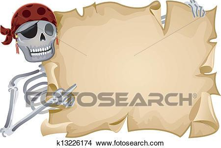 Pirate scroll clipart png transparent library Pirate scroll clipart 4 » Clipart Portal png transparent library
