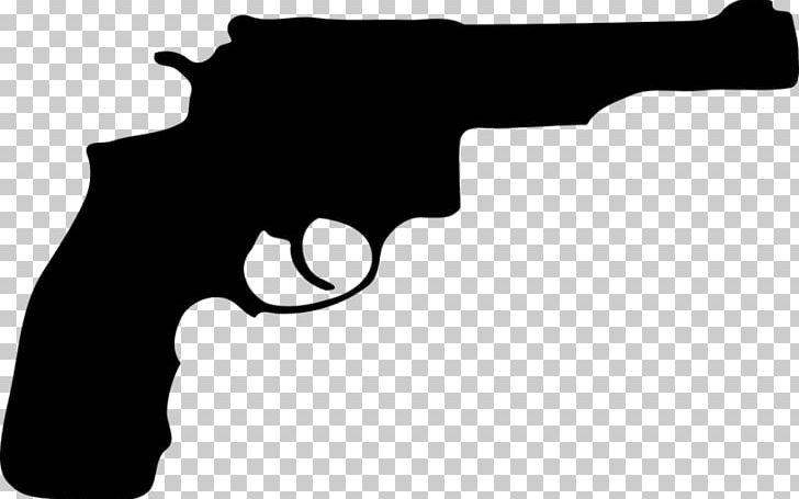 Pistol clipart black and white jpg library download Firearm Pistol Revolver Handgun PNG, Clipart, Black, Black ... jpg library download