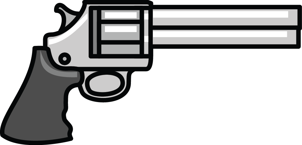 Revolver cross clipart clipart freeuse library 28+ Collection of Gun Clipart Images | High quality, free cliparts ... clipart freeuse library
