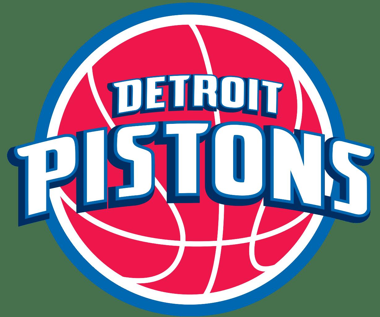 Piston basketball clipart jpg black and white stock Detroit Pistons Logo transparent PNG - StickPNG jpg black and white stock