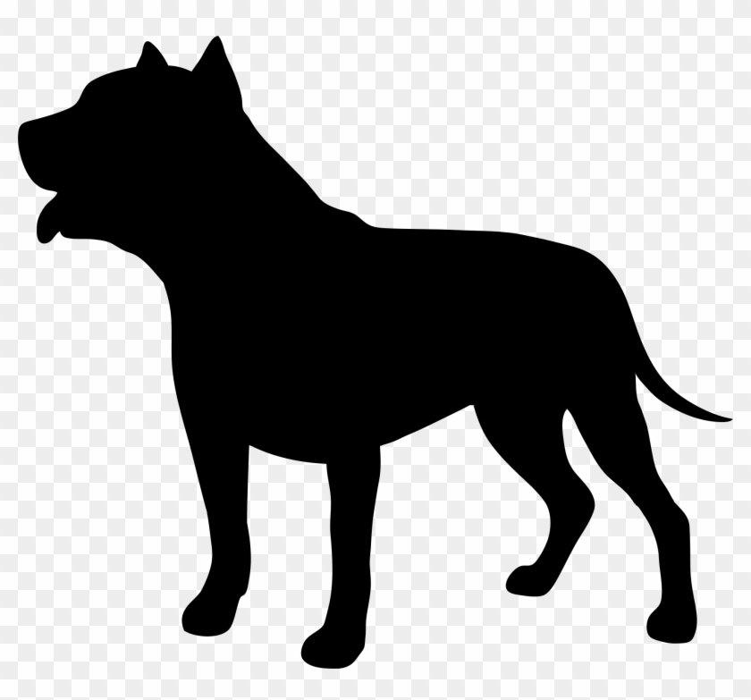Pit bull dog clipart svg stock Silhouette Clip Art - Pit Bull Dog Silhouette, HD Png ... svg stock