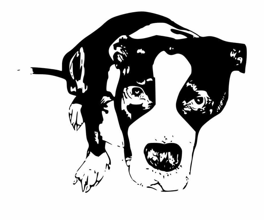Pit clipart black and white