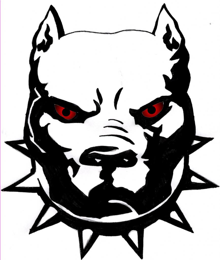 Pitbull clipart black white clip art royalty free download Pit Bull Clipart   Free download best Pit Bull Clipart on ... clip art royalty free download