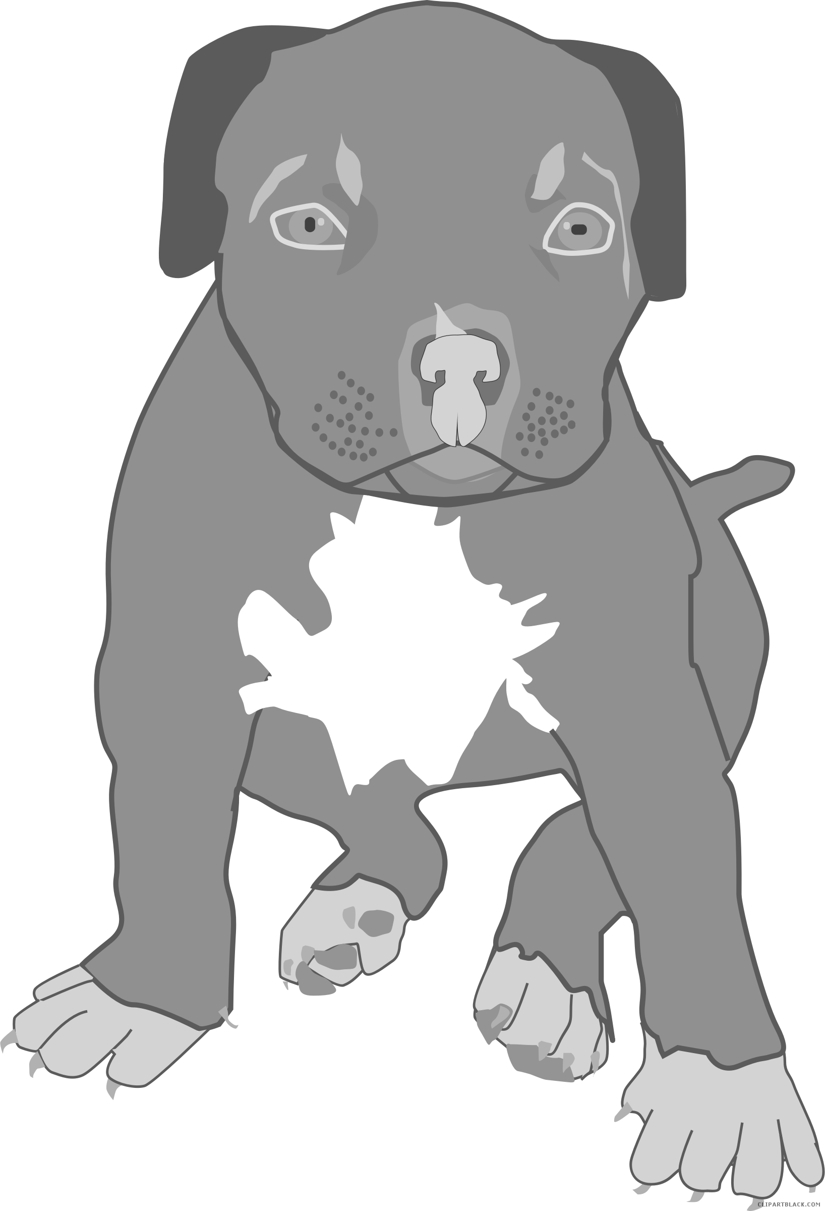 Pitbull dog clipart clip free Pitbull Clipart - Page 2 of 2 - ClipartBlack.com clip free