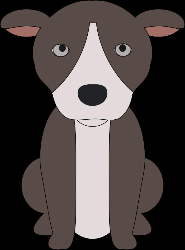 Pitbull dog clipart clip art Clipart - Pit Bull Puppy clip art