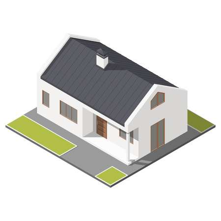 Pitched roof clipart image freeuse stock 146 Pitched Roof Cliparts, Stock Vector An #283231 ... image freeuse stock