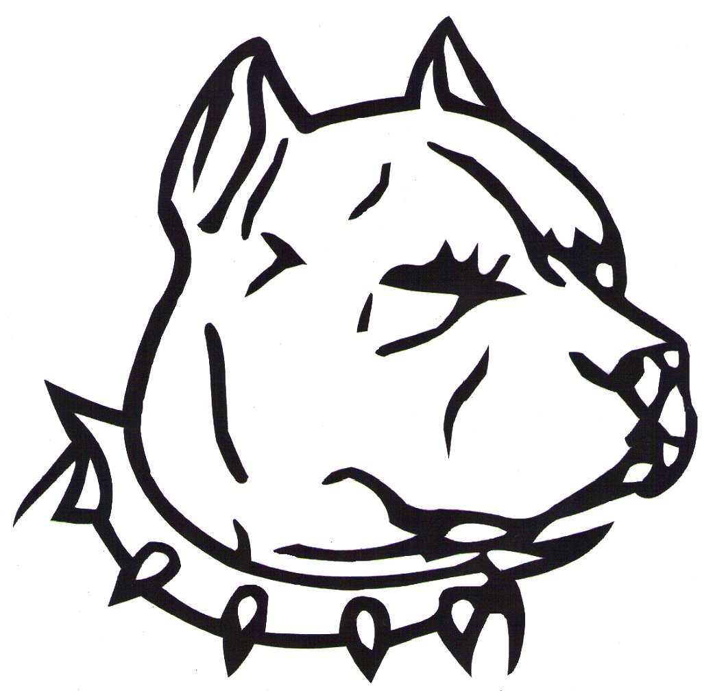 Pittbull clipart clipart black and white stock Free Pitbull Cliparts, Download Free Clip Art, Free Clip Art ... clipart black and white stock