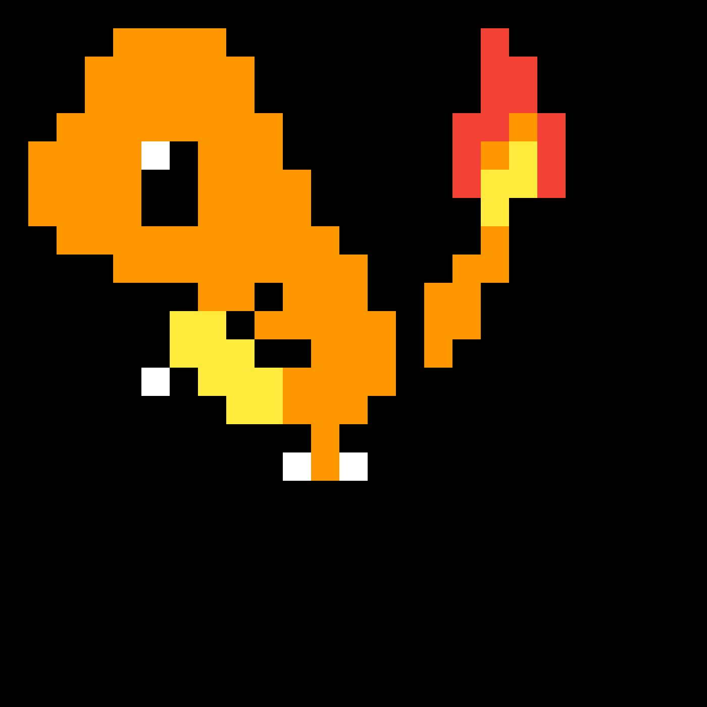 Pixel art gif clipart clipart black and white stock Pikachu Charmander Pixel art GIF - pikachu png download ... clipart black and white stock