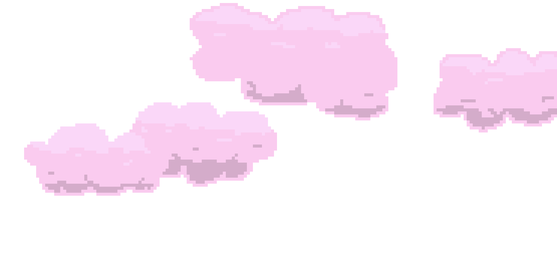 Pixel cloud clipart vector freeuse Pixel cloud clipart images gallery for free download ... vector freeuse