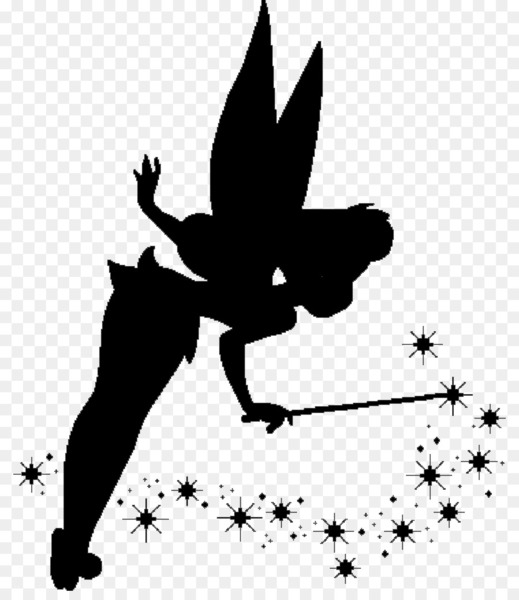 Pixie silhouette clipart clip art royalty free library Tinker Bell Peter Pan Pixie Fairy Clip art - peter pan - Nohat clip art royalty free library