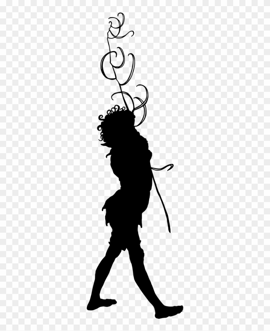 Pixie silhouette clipart clipart royalty free Silhouette,boy,pixie - Silhouette Clipart (#1807554 ... clipart royalty free