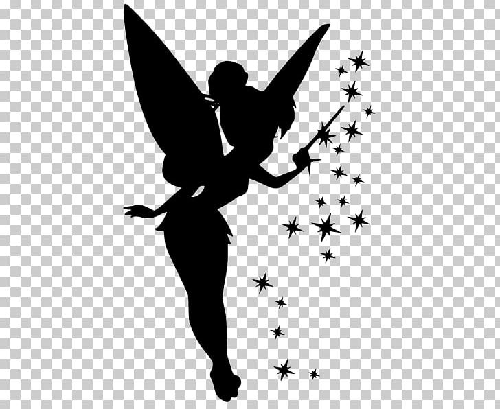 Pixie silhouette clipart png royalty free stock Tinker Bell Silhouette Peter Pan Pixie Dust PNG, Clipart ... png royalty free stock