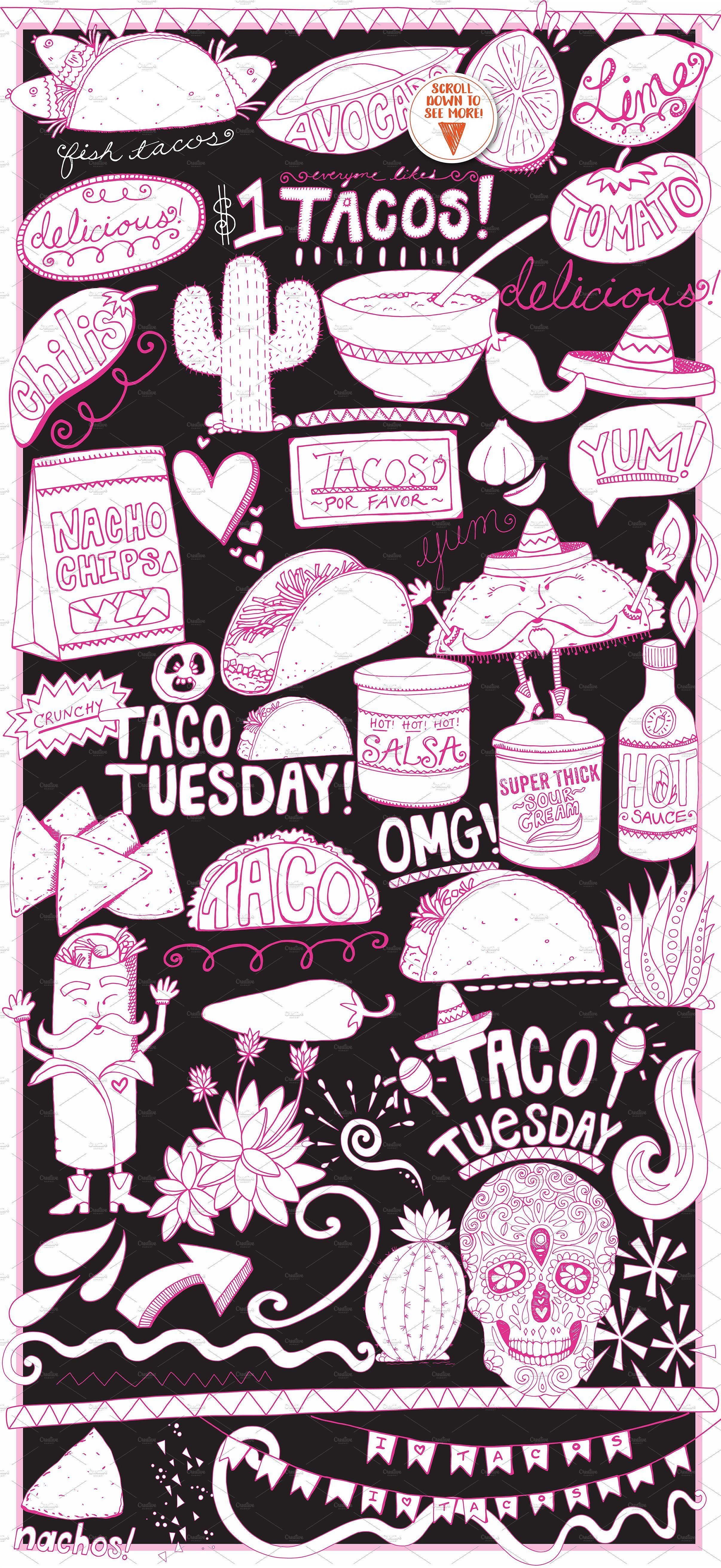 Pizca clipart vector stock Mexican Food ClipArt -Taco | *pew pew* | Mexican food ... vector stock