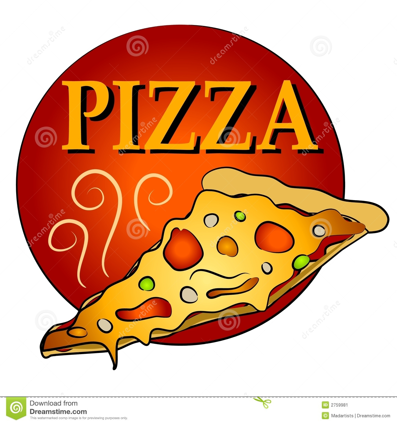 Pizza artwork clipart graphic free stock Pizza artwork clipart - ClipartFest graphic free stock