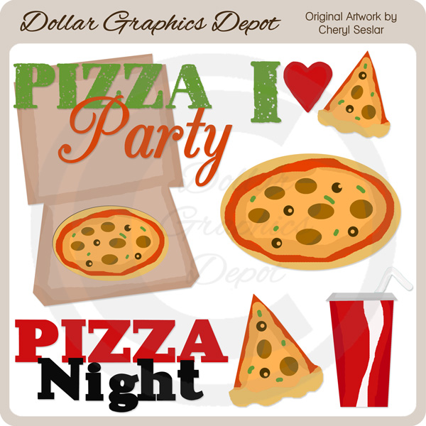 Pizza artwork clipart image black and white download Pizza artwork clipart - ClipartFest image black and white download