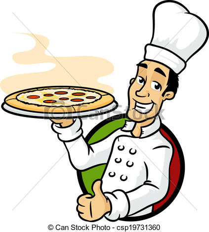 Pizza chef clipart graphic library library Pizza chef Vector Clip Art Royalty Free. 3,088 Pizza chef clipart ... graphic library library