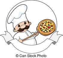 Pizza chef clipart black and white stock Pizza chef Vector Clip Art Royalty Free. 3,088 Pizza chef clipart ... black and white stock
