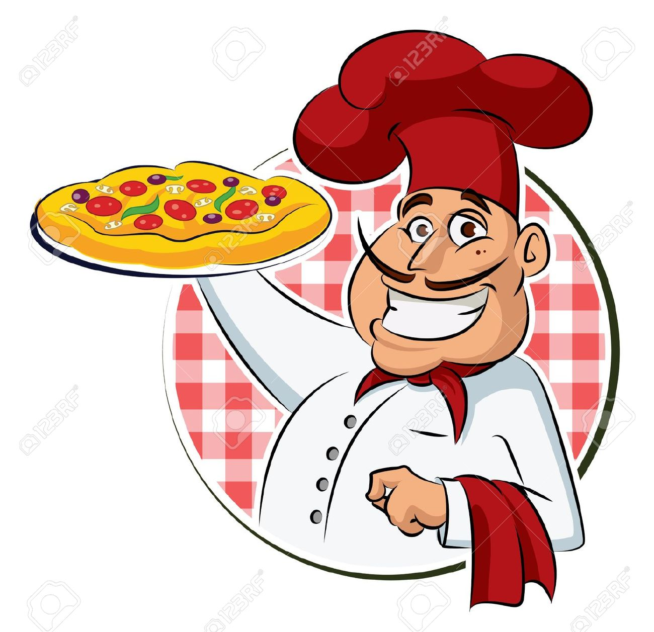 Pizza chef clipart picture free library Cook Pizza Royalty Free Cliparts, Vectors, And Stock Illustration ... picture free library