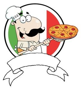 Pizza chef clipart clipart stock Italian Pizza Chef Clipart - Clipart Kid clipart stock