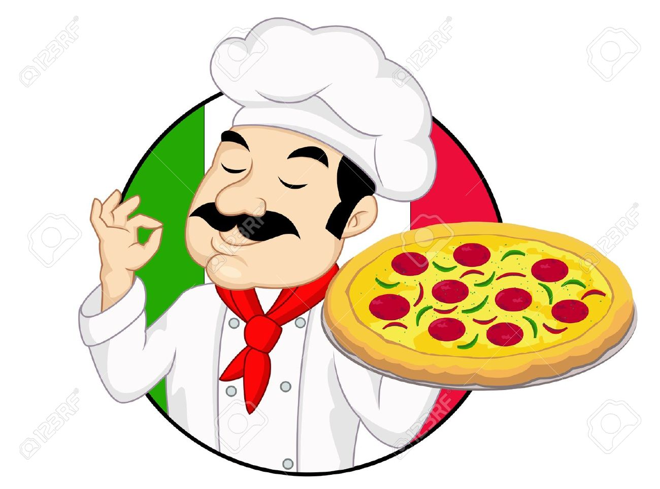 Pizza chef clipart clipart download 5,310 Pizza Chef Stock Vector Illustration And Royalty Free Pizza ... clipart download