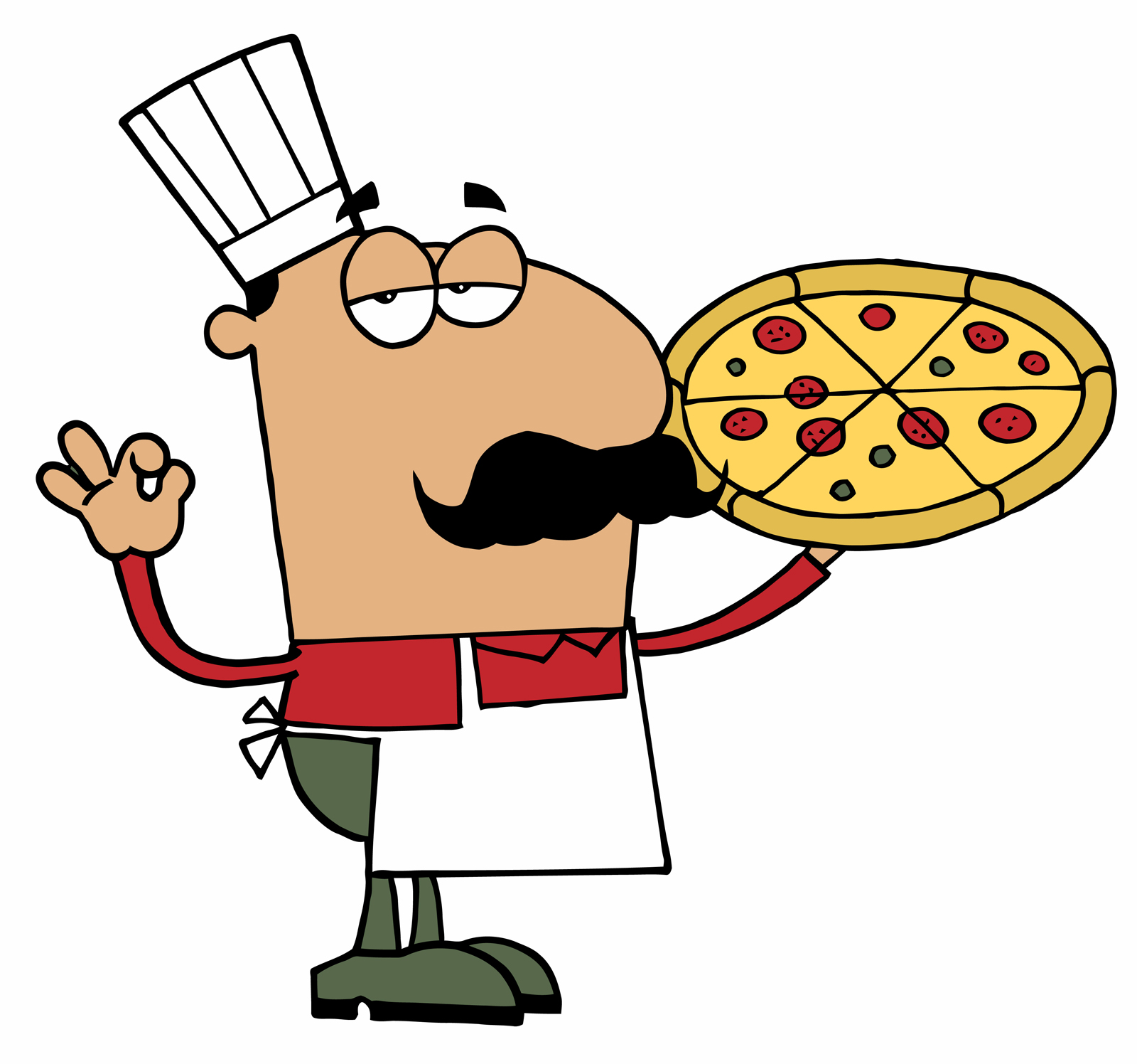 Pizza chef clipart svg royalty free stock Clipart pizza chef - ClipartFest svg royalty free stock