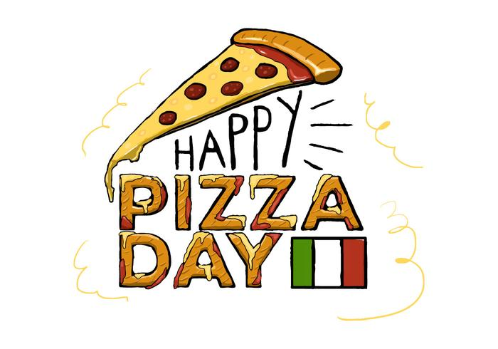 Pizza day clipart picture free library Free Pizza Day Vector - Download Free Vectors, Clipart ... picture free library