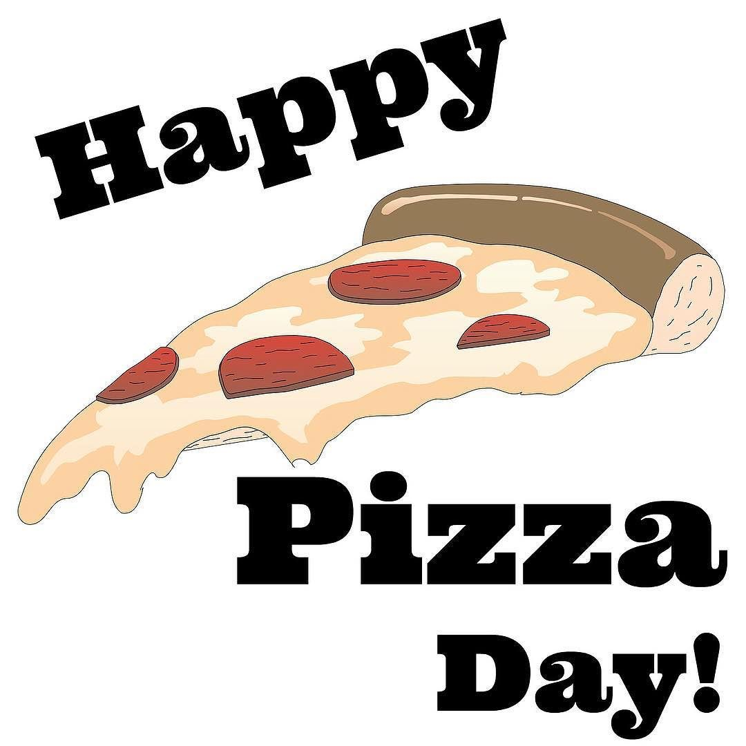 Pizza day clipart clipart library library It\'s National Pizza Day - can we get a HECK YEAH? #pizza ... clipart library library